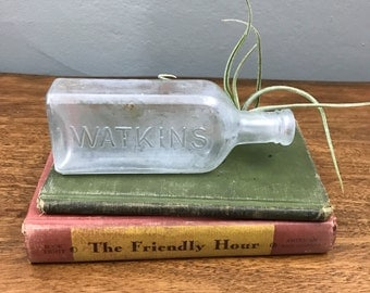 Small Vintage Watkins Bottle
