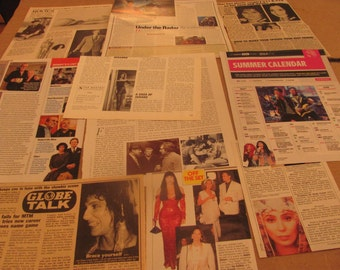 CHER  CLIPPINGS  #0221