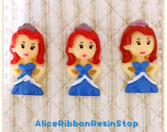 CLEARANCE!!! 9pcs Princess Sofia flatback resin, Sofia the first cabochon, Princess sofia hair bow center, Princess Sofia embellishment