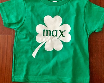 St. Patrick's Day Name Shirts