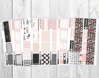 SALE 15% OFF Secret Admirer Weekly Sticker Kit for Erin Condren, Happy Planner, Filofax, Kikki K etc
