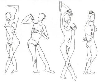 line drawing -Print