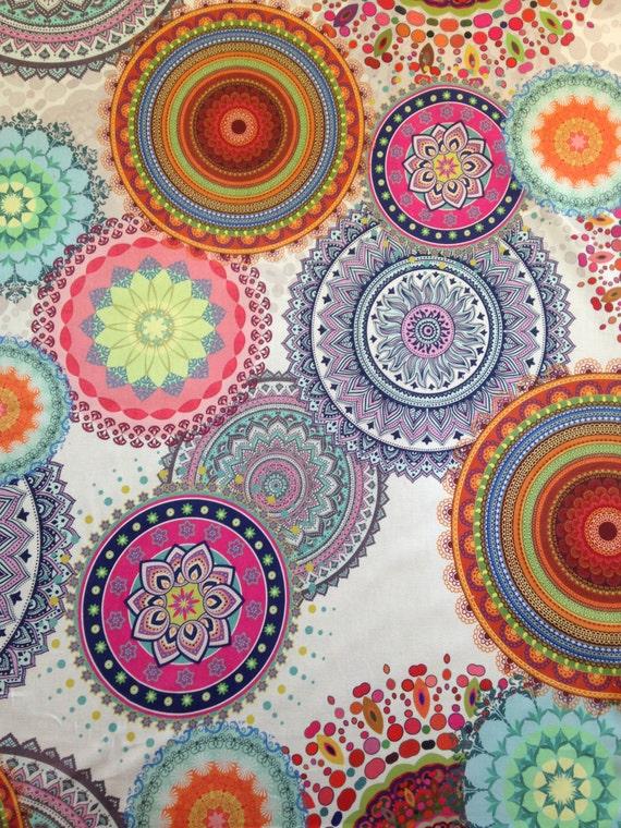 Colourful Circle Fabric