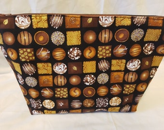 Chocoholic Medium Project Bag #3