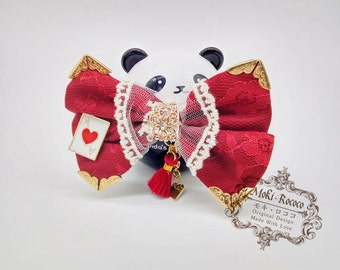 MokiRococo Alice in Wonderland Red Queen Style Collar