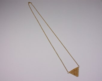 """Necklace """"Golden triangle"""""""