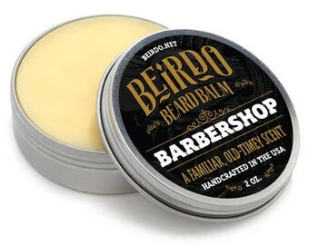 Beard Balm / Barbershop / beard oil / beard balm / beard wash / beard care / gifts for men / gifts for him / mens grooming / 2 oz. / Beirdo