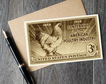Chicken art, chicken cards, chicken gifts, chicken art prints, vintage chicken art, fun chicken cards, cute chicken cards, cute chicken gift