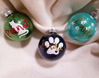 Personalized Pet Ornaments- Pet Christmas Decor- Fur Baby Ornament