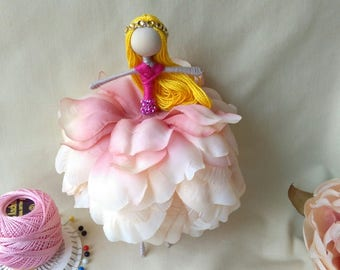 Bendy flower doll, Princess