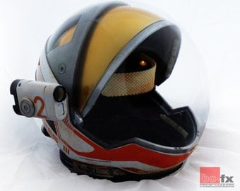 Matt Damons Helmet form The Martian kit