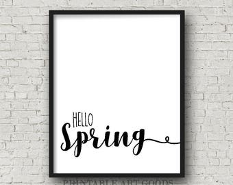 """ON SALE """"Hello Spring"""" 