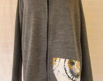 Hooded Grey Jacket