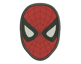 Spiderman Embroidery Design - 3 sizes - 5 formats