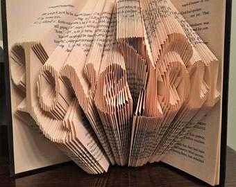 Love You Book Folding