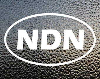 NDN Decal