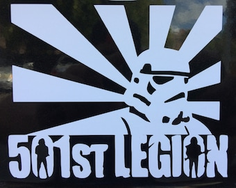 STORM TROOPER 501st legion DECAL, sticker