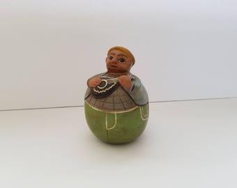 Peruvian Pottery, Chulucanas Pottery, Chulucanas Figurine
