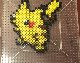 Pikachu Mini Perler Fuse Bead KIT with Pegboard