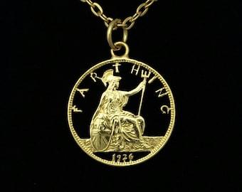 George V Farthing Necklace (1920-1936)