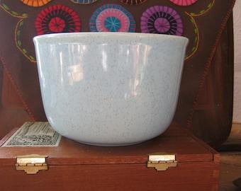 Vintage Speckled Bauer Pot-Turquoise