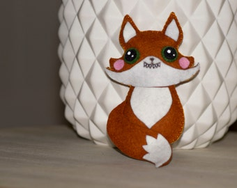 Mini plush Fox