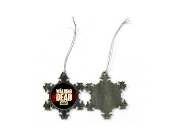 The Walking Dead Logo Christmas Ornament