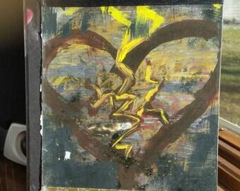 Beauty from Ashes inspirational art Journal