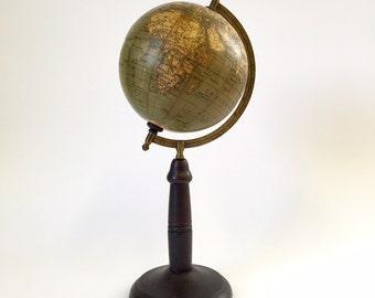 c1919 German School Globe from Paul Räth