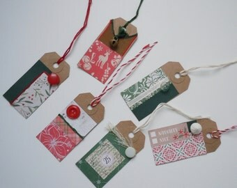 Old Fashioned Christmas Tags