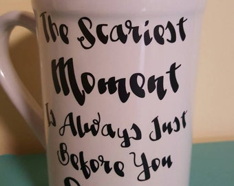 Stephen King quote coffee mug