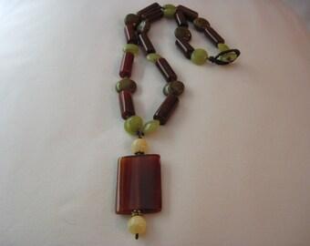 Oregon Coast Carnelian Necklace