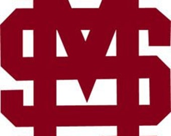 Mississippi State Decal
