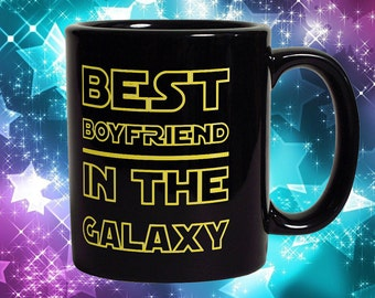 Best Boyfriend In The Galaxy Mug - Funny Coffee Mug Perfect Gift For Boyfriend