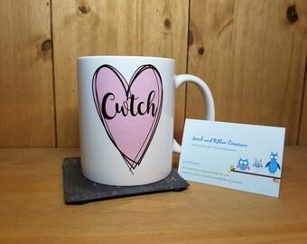 Cwtch mug.