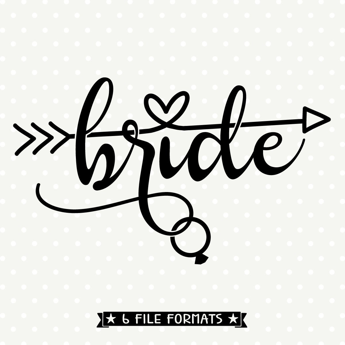 Bride Dxf File Diy Bridal Party Shirt Wedding Svg File Dxf