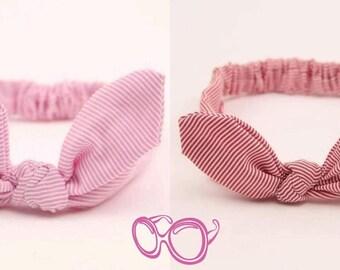 Very Soft Elastic Bow Headband/Headwrap