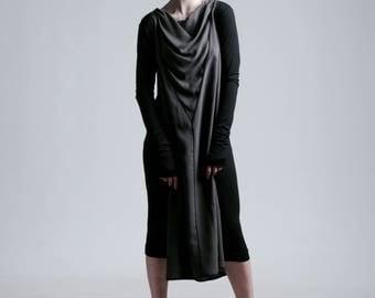 Silk transformer dress