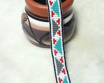 Native American loom beaded bracelet