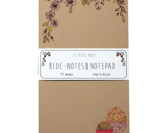 Notepad Pink Market