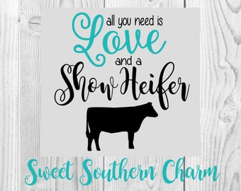 show heifer svg - heifer svg - heifer svg file - stock show svg - stock show svg file - svg file - svg files - cow svg file - cutting file