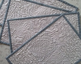 Modern Placemats Etsy
