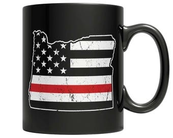 Limited Edition Firefighters - I fight what you fear Oregon Brotherhood Mug