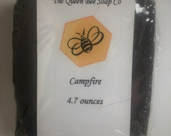 Campfire Scented Cold process soap