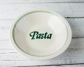 Large Ceramic Pasta Bowl-Food Photography Props