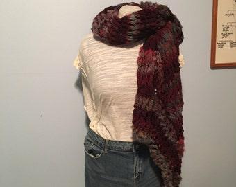 Bulky blanket shawl/scarf