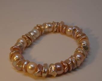 Bracelet Keshi SW-Beads