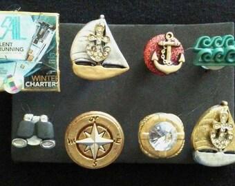 Sailing Push Pins