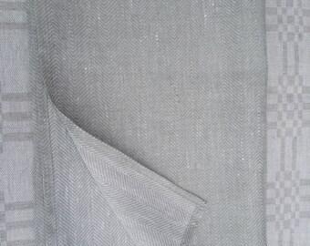 100% Linen Bath Towel. Natural Linen. Organic Natural Flax Towels, Guest Towel