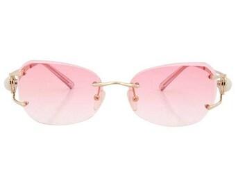Pink Vintage Sunglasses